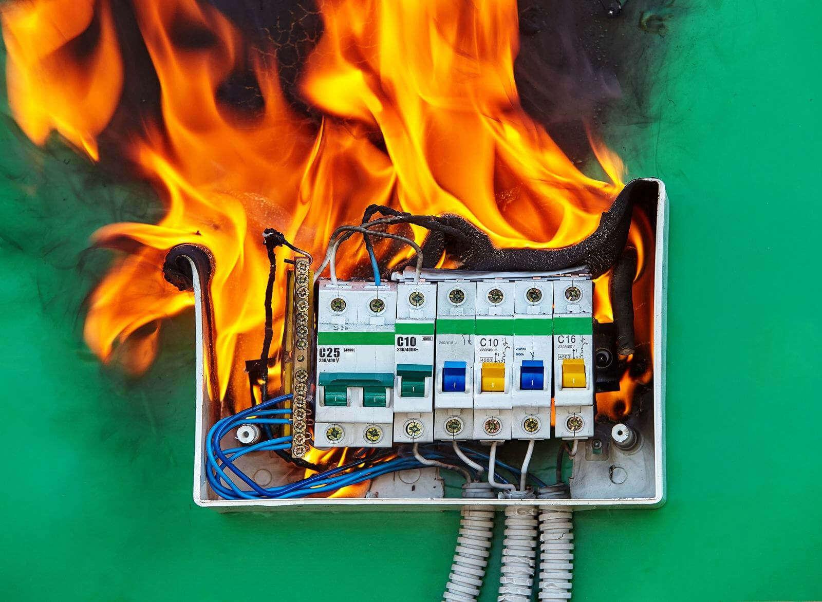 fire distro box